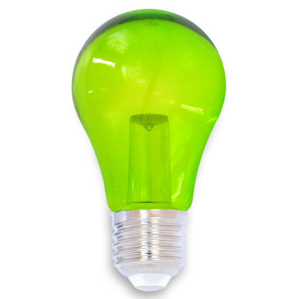 1 watt, groen, groene grote transparante kap Ø60
