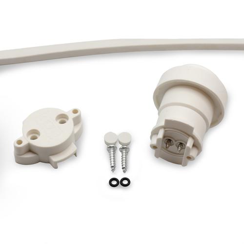 Losse fitting incl. afdichtring (niet geschikt icm filament lampen) - Wit