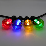 4 kleuren gemixte lampen met grote kap