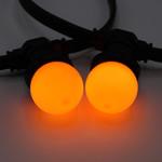 Oranje lampen
