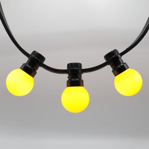 Priklamp - Geel (geen E27 fitting)