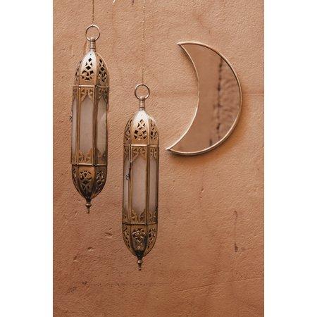 Spiegel brass moon S