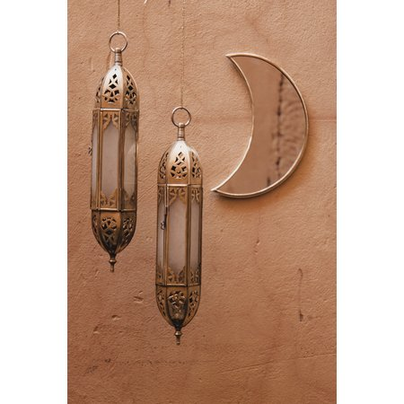 Spiegel brass moon M