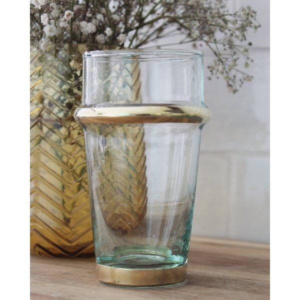 Glas Beldi goud