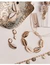 Oorhangers Lovely Diamond gold plated (per paar/per stuk)