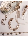 Oorhangers Treasure Hunt gold plated