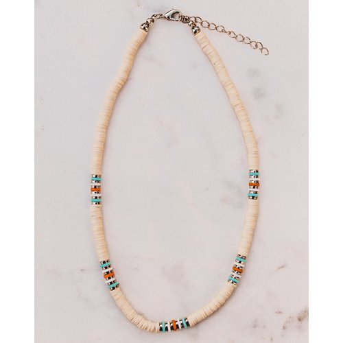 Club Nomad SOLD OUT! Surf ketting Tropics beige
