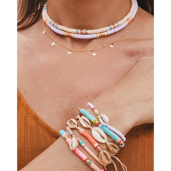 Surf armband Surfing Shell peach
