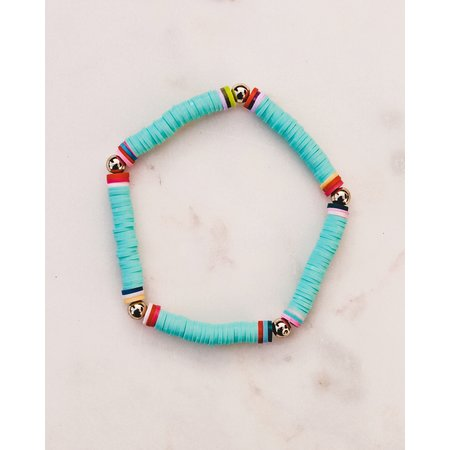 Club Nomad Surf armband Ocean Breeze turquoise
