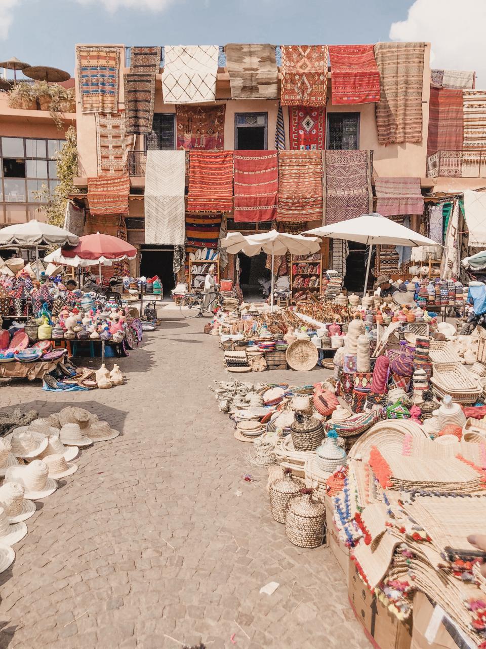 Souks Marrakech Marokko