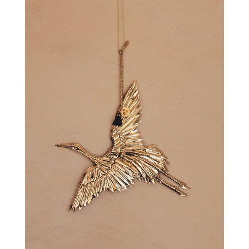 Club Nomad Ornament Crane