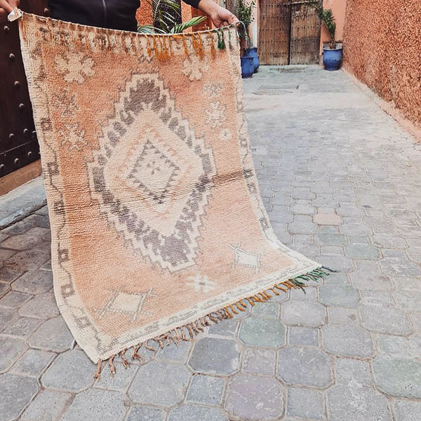 Vintage Boujaad vloerkleed (125x90cm)