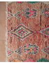 Vintage boujaad vloerkleed (220x85cm)