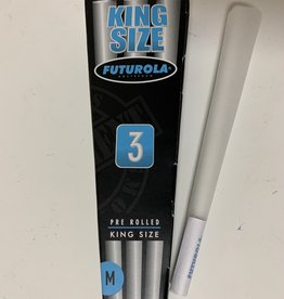 Futurola Futurola - Pre Rolled King Size (3 PACK) 109mm