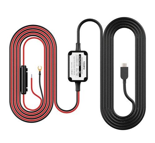 Dashcamdeal Hardwire kit Mini USB 2-wire