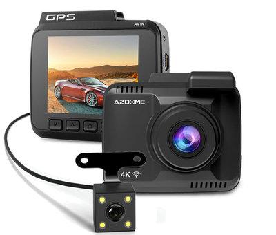 AZDome AZDome GS63H 4K 2CH Dual Wifi GPS dashcam