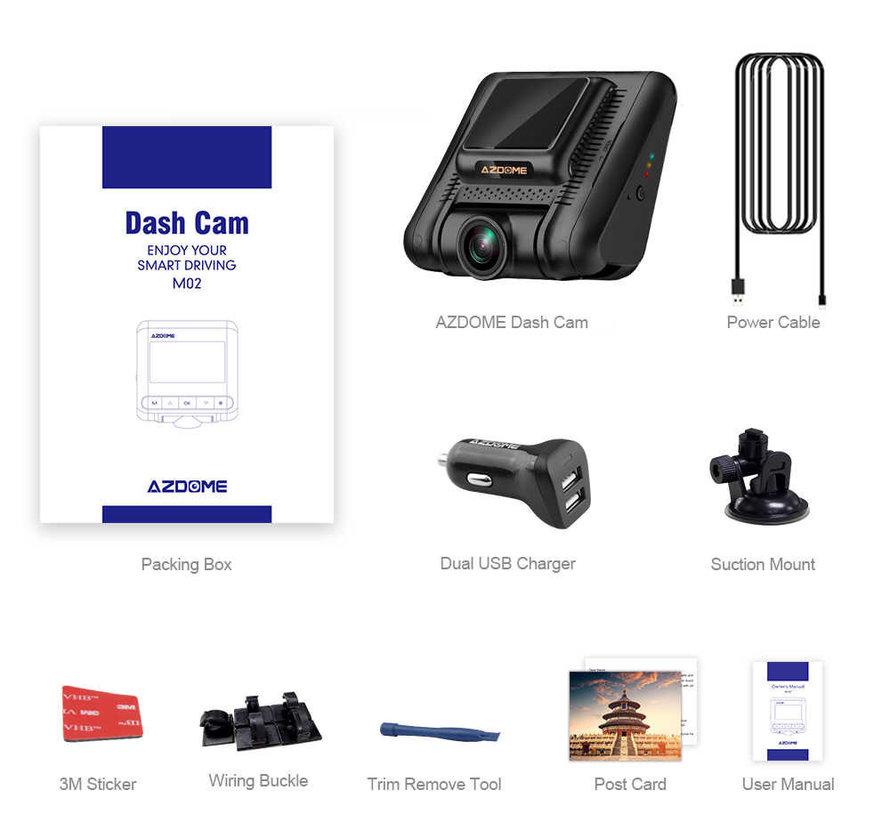 AZDome M02 Wifi FullHD dashcam
