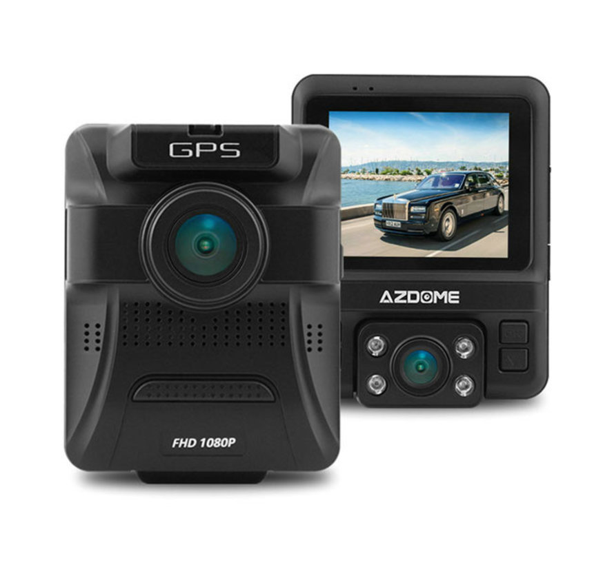 AZDome GS65H Taxi IR GPS FullHD dashcam