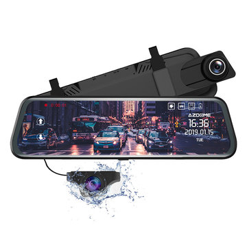 AZDome AZDome PG02 2CH Full Mirror Touch dashcam