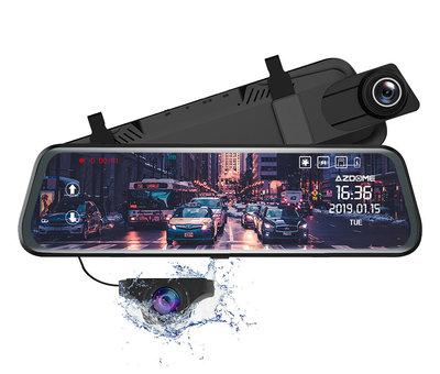 AZDome AZDome PG02 2CH Full Mirror Touch dashcam