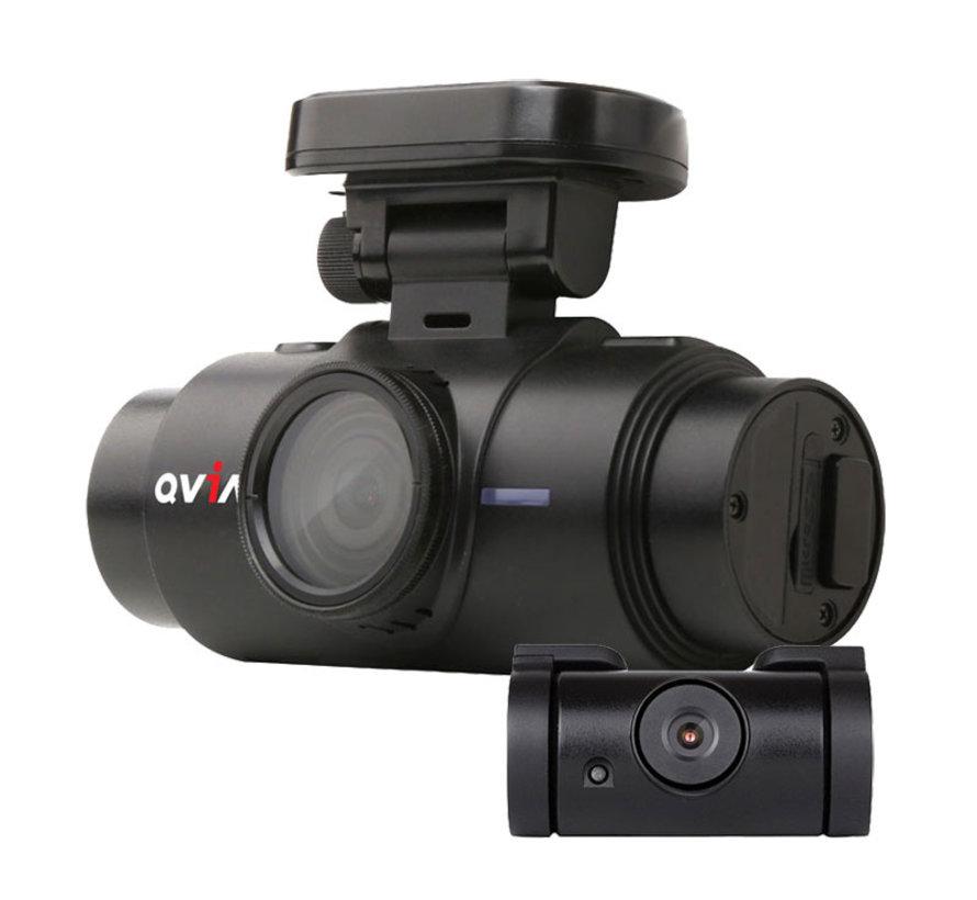 Qvia AR790 WD 2CH Dual Wifi GPS 16gb dashcam