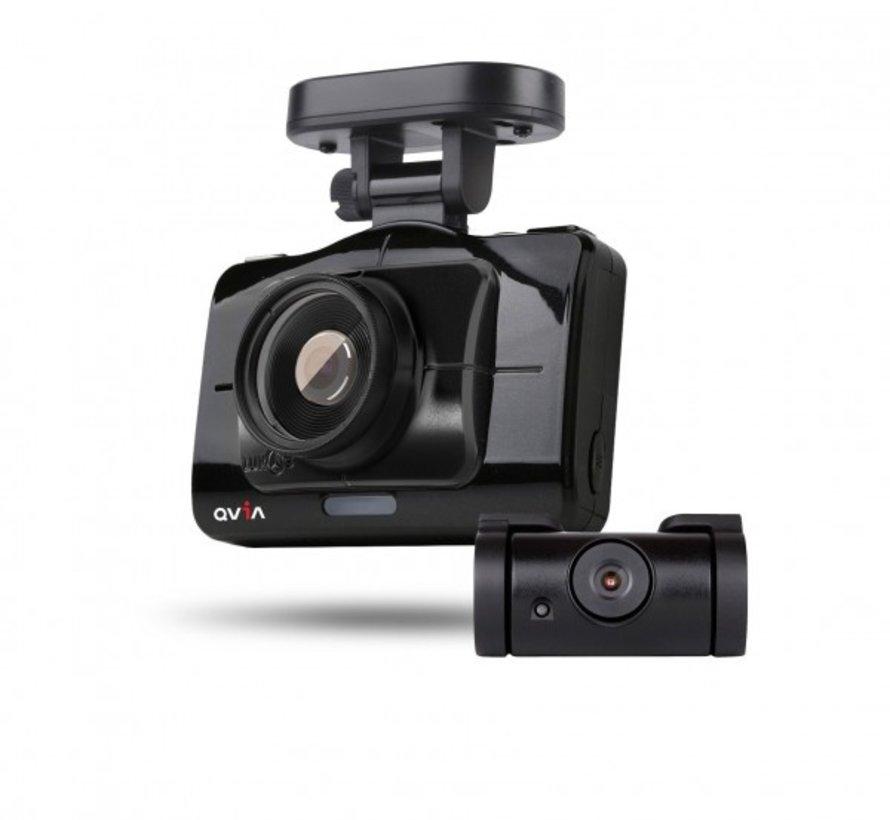 Qvia R935 Duo 16gb GPS Touchscreen dashcam