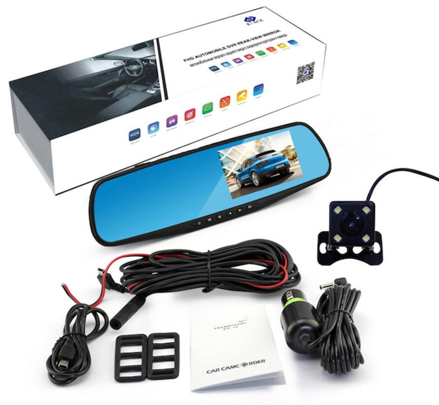 Mirror FullHD 1080p 2CH Dual binnenspiegel dashcam