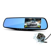 Dashcamdeal Dashcam Mirror 1080p 2CH Blue