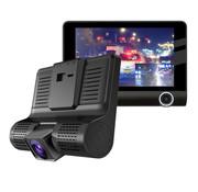 Dashcamdeal T5 Taxi Dual 2CH 4.0 inch LCD dashcam