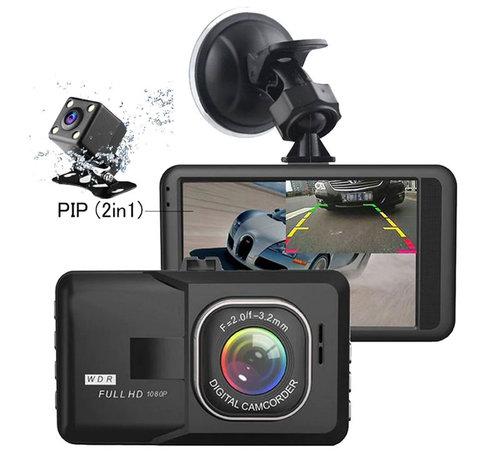 Dashcamdeal X209 WDR 2CH Dual FullHD 1080p dashcam