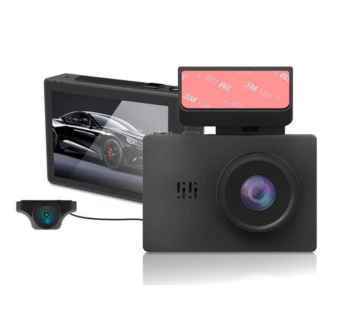 Dashcamdeal Dashcam GT83 4K Wifi 2CH