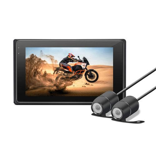 Motocam Motocam M2F 2CH Dual FullHD motorcycle dashcam