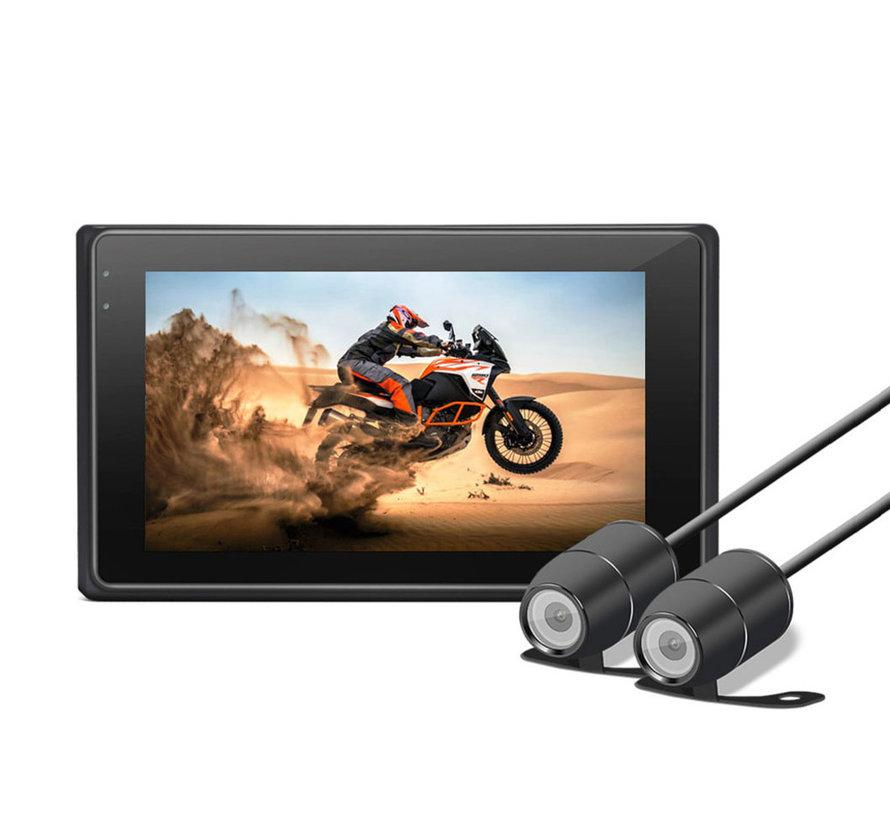 Motocam M2F 2CH Dual FullHD motorcycle dashcam