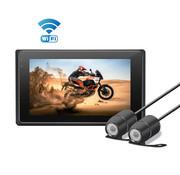 Motocam Motocam M2F Wifi Full HD 2CH Motor dashcam