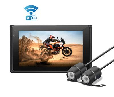 Motocam Motocam M2F Wifi 2CH Dual FullHD motorcycle dashcam