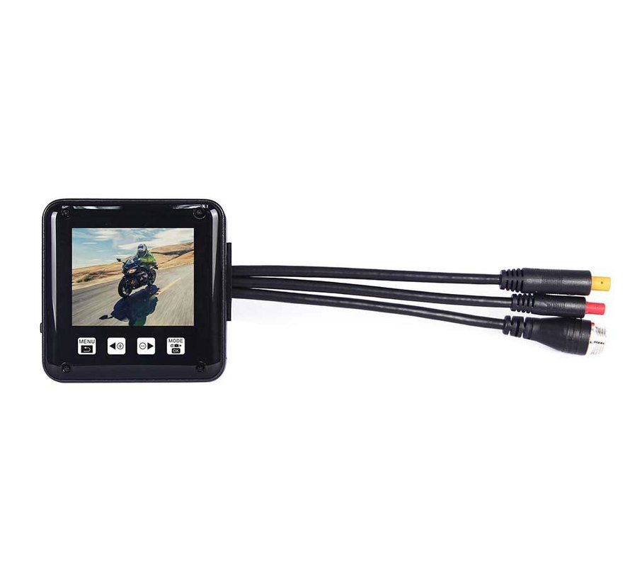 Motocam P6F Wifi 2CH Dual motorcycle dashcam