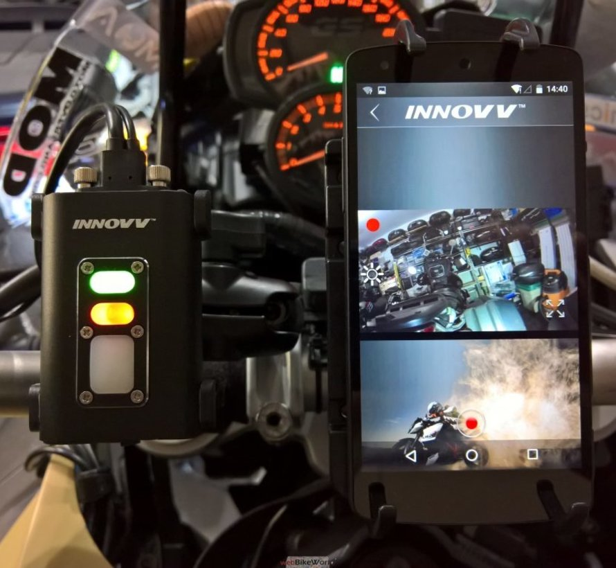 Innovv C5 1CH Wifi FullHD motorcycle dashcam