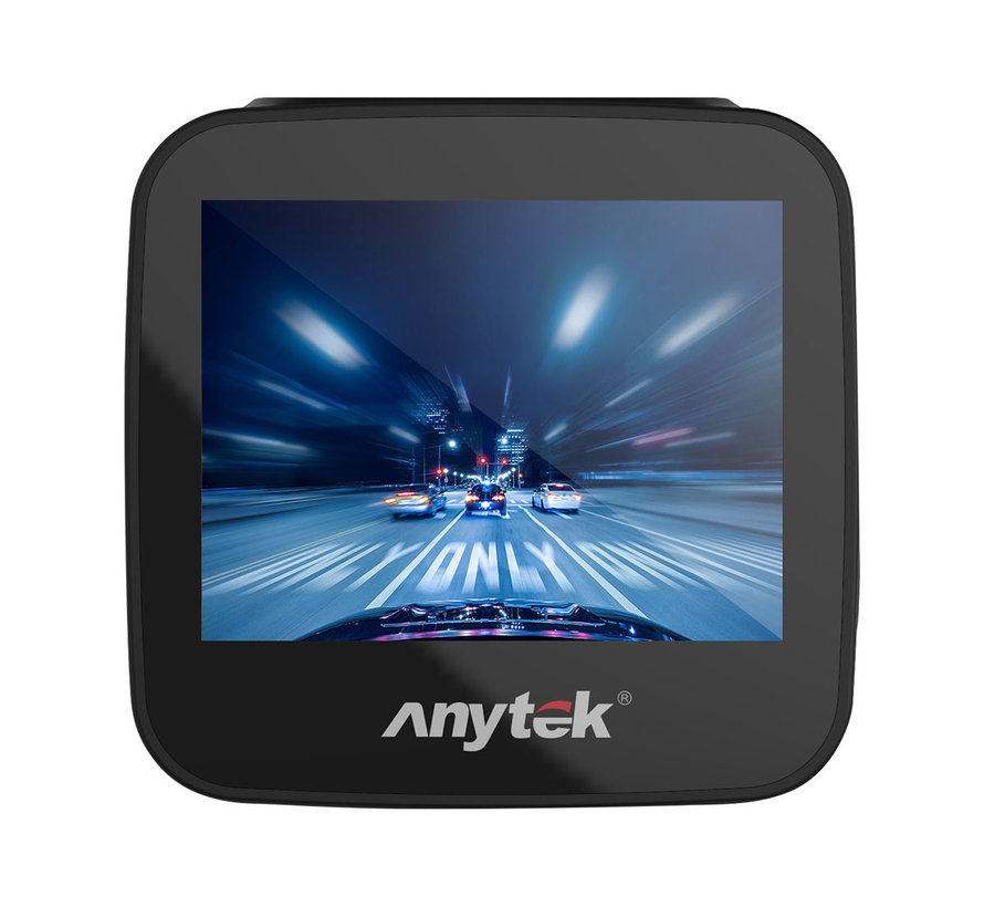 Anytek Q2 2CH Dual Wifi Touch FullHD dashcam