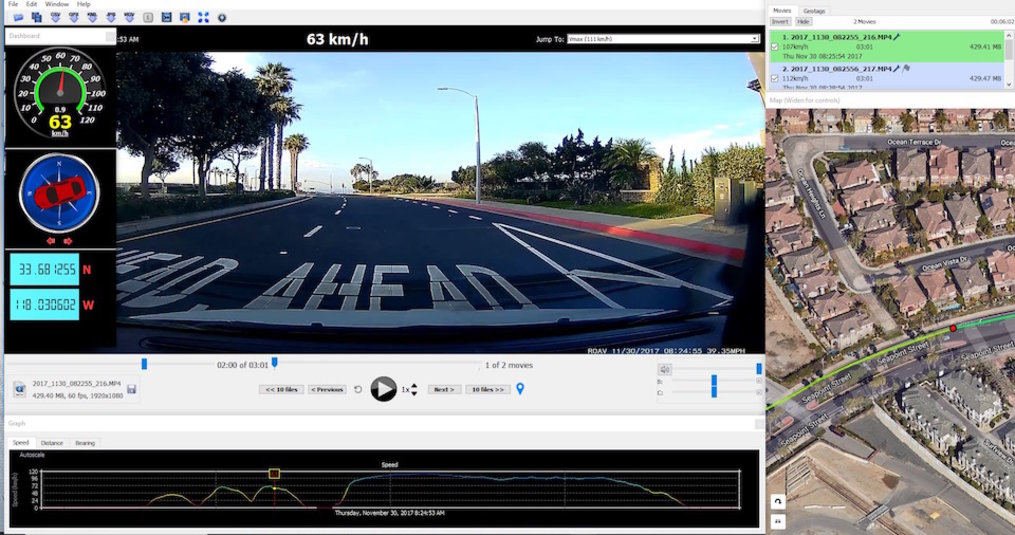 What is the use of GPS on a dashcam?