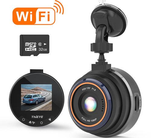 ThiEYE ThiEYE Safeel Zero+ Wifi 32gb FullHD dashcam