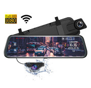 AZDome AZDome AR08 2CH Full Mirror Wifi Touch dashcam