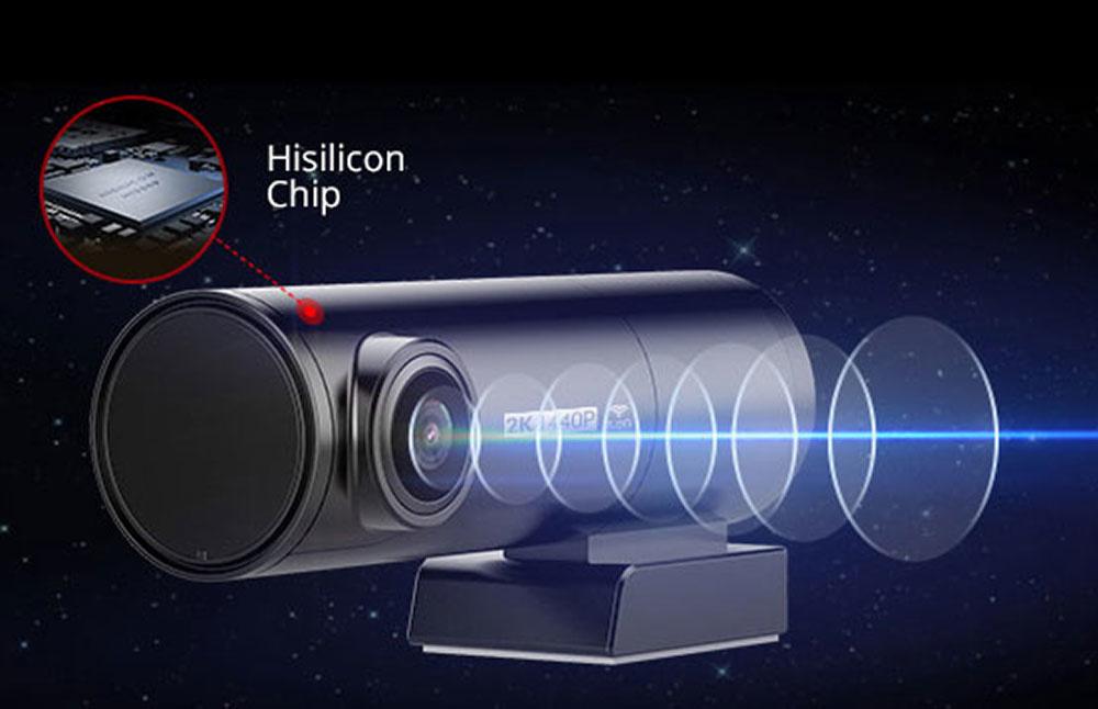 AZDome BN03 QuadHD Wifi GPS dashcam - Dashcamdeal   World's biggest dashcam  store