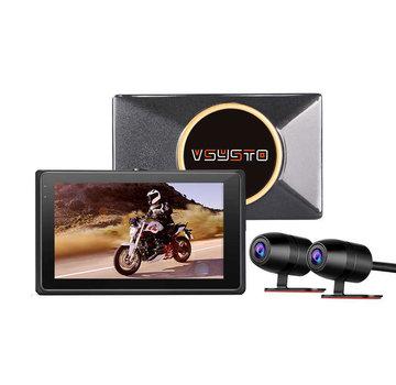 Motocam Motocam E7 2CH Dual Wifi Vsysto motorcycle dashcam