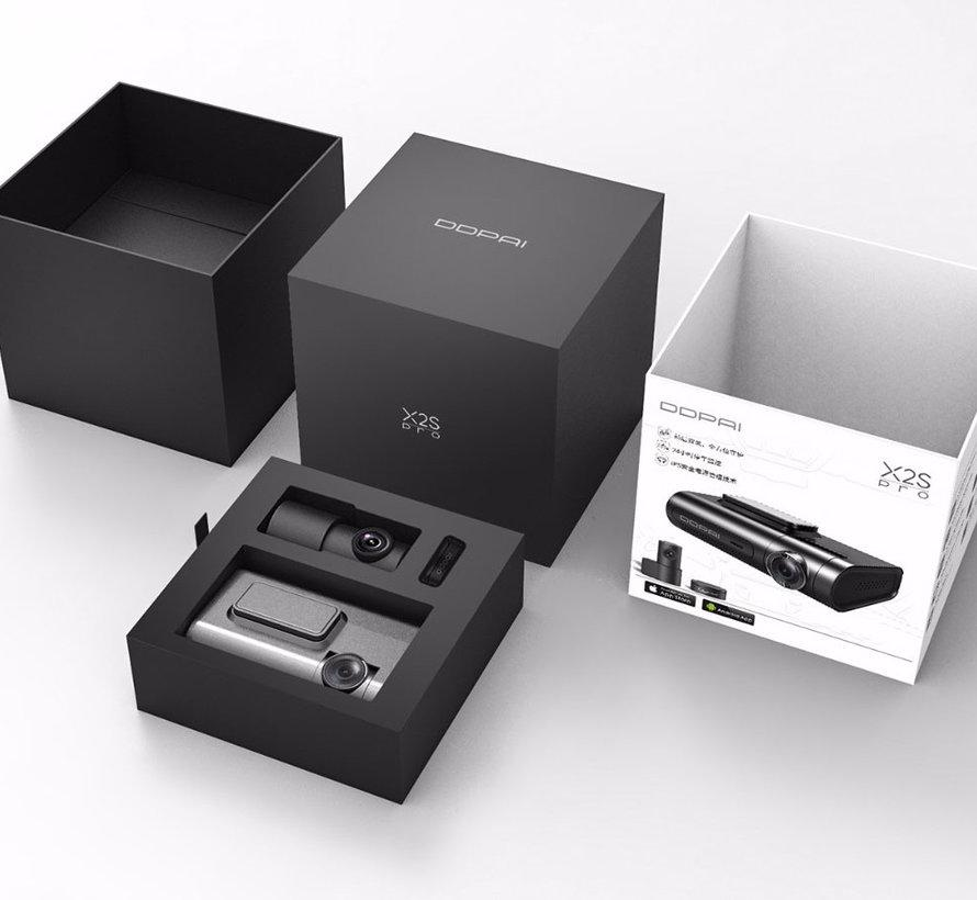 DDpai X2S Pro 2CH Dual Wifi GPS QuadHD dashcam