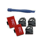 Dashcamdeal 5pc adhesive cable clips with trimmer
