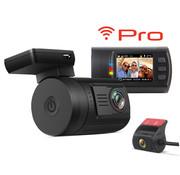 Mini Mini 0906 Pro 2CH Dual Wifi GPS FullHD dashcam