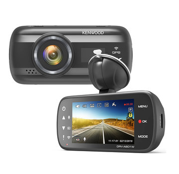 KENWOOD KENWOOD DRV-A601W 64gb Wifi GPS 4K dashcam