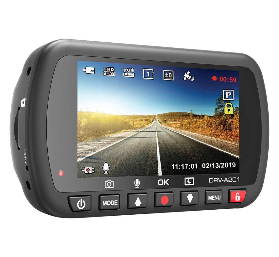 KENWOOD DRV-A201 16gb GPS Full HD dashcam