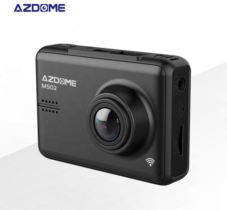 AZDome MS02 Wifi IPS FullHD 1080p dashcam