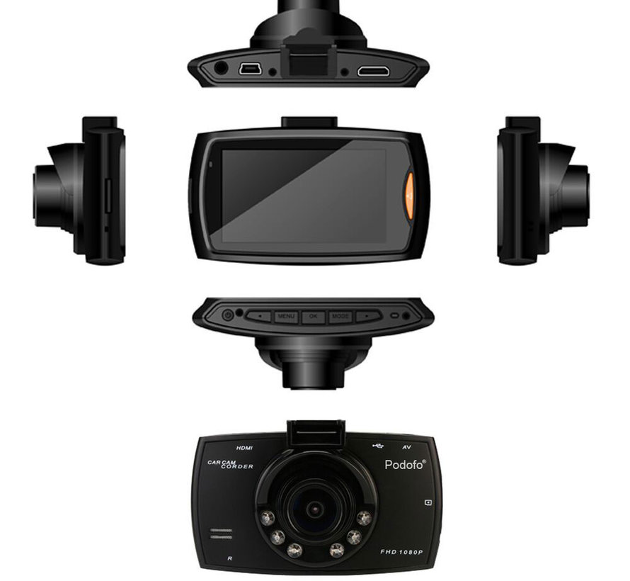 Dashcam G30A IR FullHD 1080p dashcam